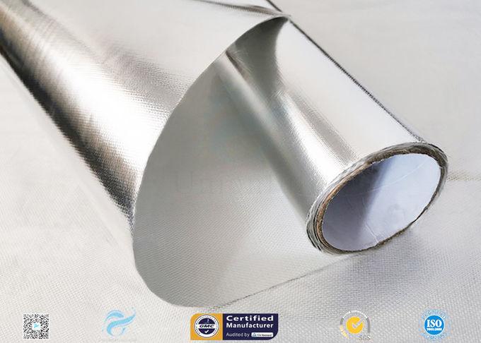 572℉ Aluminium Foil Fiberglass Fabric For Roof Heat