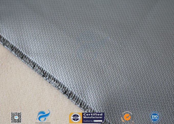 15 Oz Silicone Coated Fiberglass Fabric For Welding Blanket 0.43mm