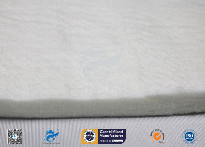 800℃ E-Glass Needle Mat Heat Insulation Materials And Anti-noise